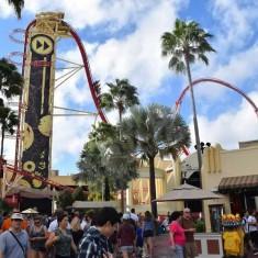 Hollywood Rip Ride Rockit Roller Coaster At Universal