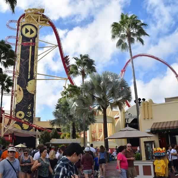 Hollywood Rip Ride Rockit Roller Coaster At Universal