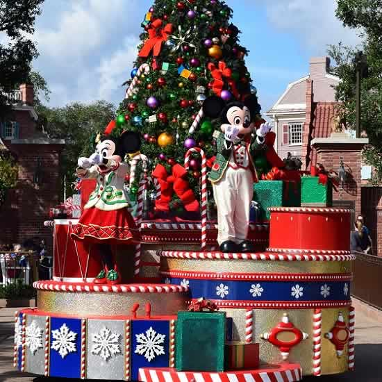 Christmas At Disney World Orlando