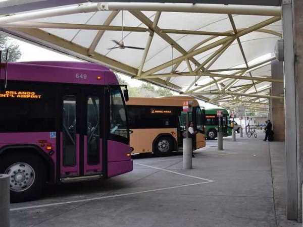 Lynx Bus Station at Orlando International Airport