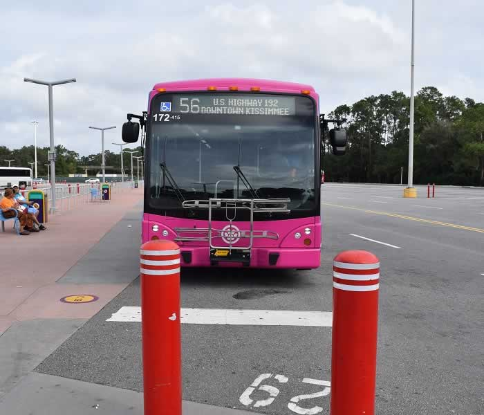 Lynx Bus is the Orlando Public Transport Service
