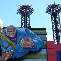 Doctor Doom's Fearfall is Drop Ride at IOA Orlando