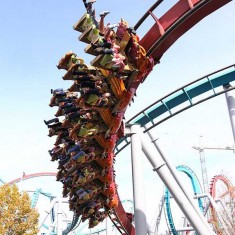 Dragon Challenge is Among Best Orlando Roller Coasters