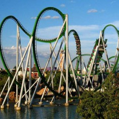 The Incredible Hulk Among Best Orlando Roller Coasters