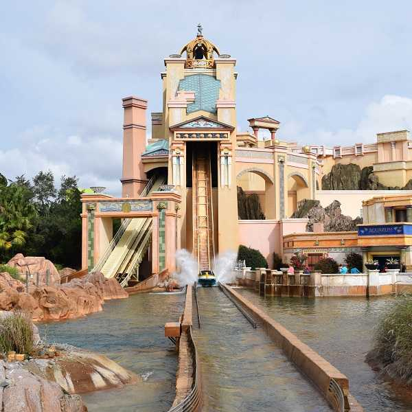 SeaWorld's Journey to Atlantis is a Great Water Ride