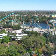 Kraken is Among the Best Orlando Roller Coasters
