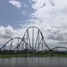 Mako is Orlando's Longest and Fastest Roller Coaster
