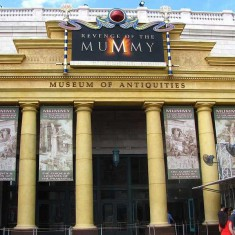 Revenge of the Mummy is a Great Indoor Roller Coaster
