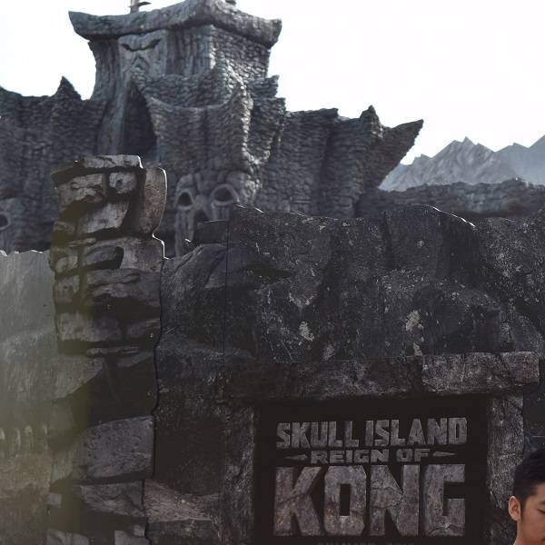 Skull Island Reign Of Kong at Universal IOA, Orlando