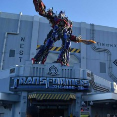 Transformers is a Key Attraction at Universal Orlando