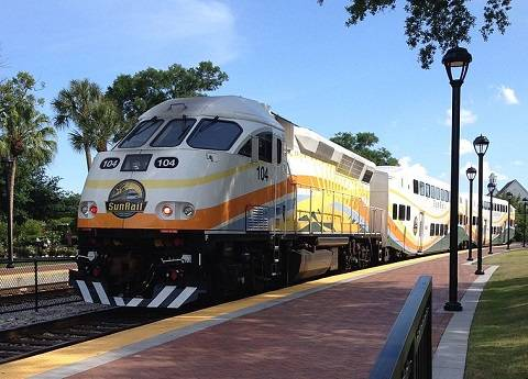 Orlando SunRail is the Orlando Train Service